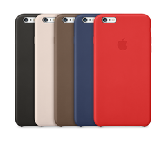Apple Leather Case iPhone 6S Plus