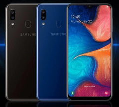 Galaxy A20 3/32GB SM-A205FD duos 2019