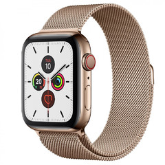 Apple Watch Series 5 Stainless 44мм+LTE MWWJ2