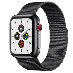Apple Watch Series 5 Stainless 44мм+LTE MWWL2